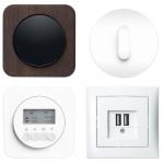 Die Designschalter von Berker gibt es in zahlreichen Ausführungen. Dabei können viele mit zusätzlichen Lösungen wie USB-Ladesteckdosen oder einer Jalousiesteuerung kombiniert werden.